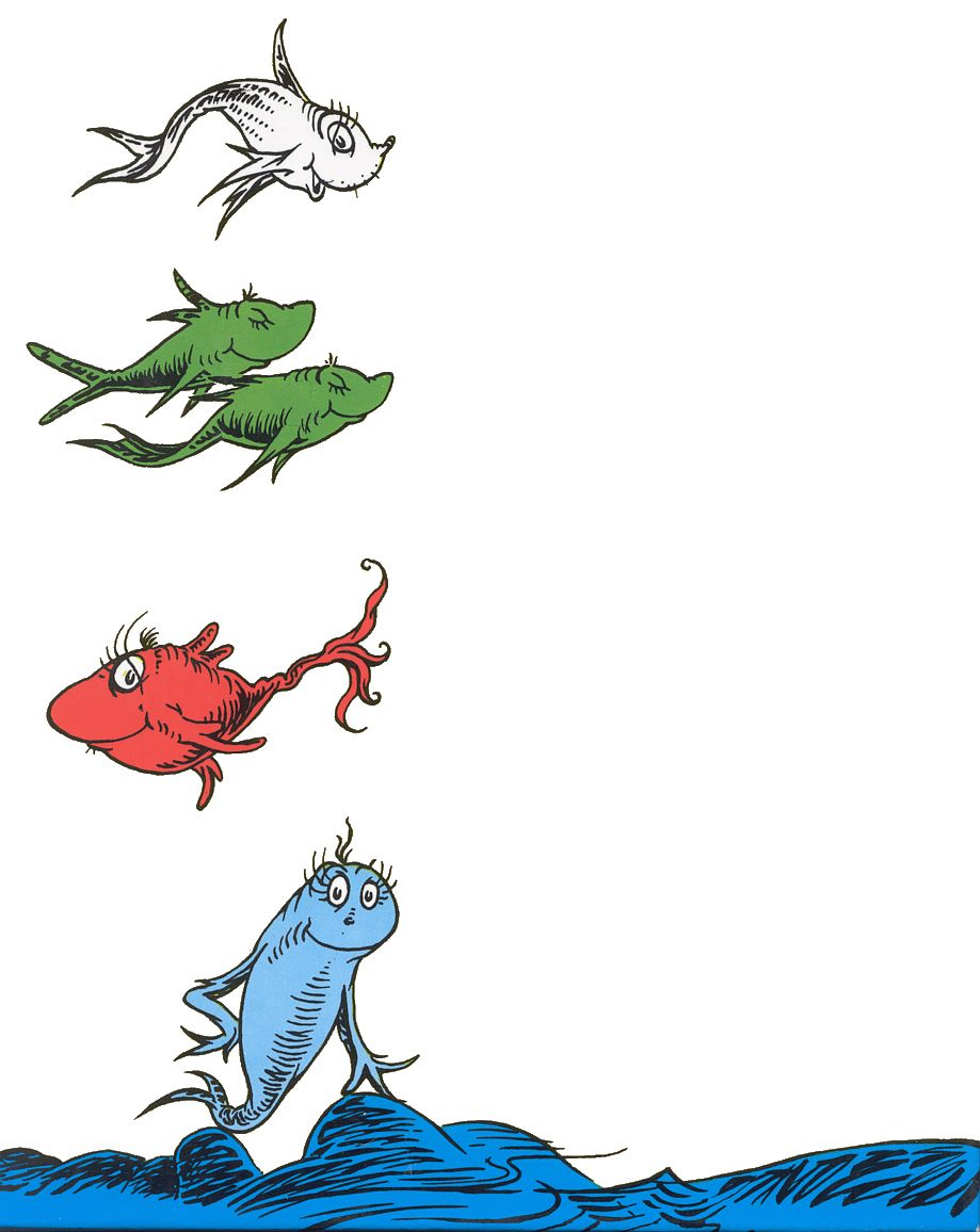 One Fish Two Fish Dr. Seuss Tags Free Printable