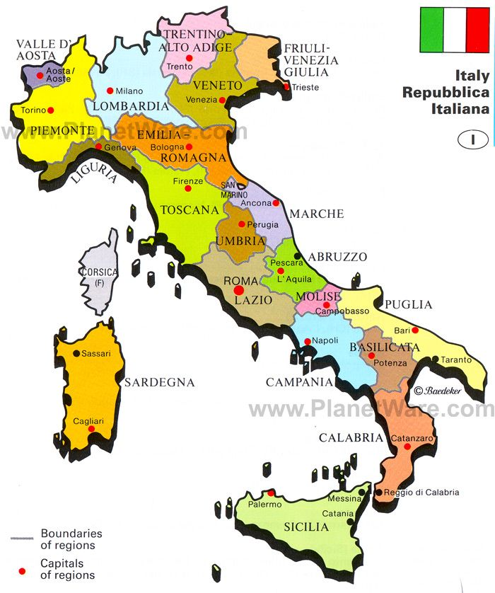 Google Image Result For HttpwwwplanetwarecomimapIitaly - Maps of italy