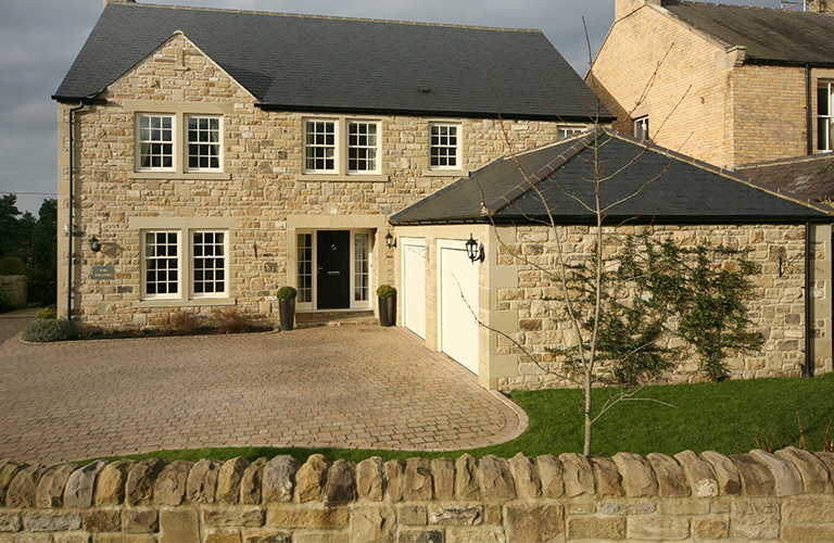 The Platts' overcame site access issues to establish this picturesque cottage. Find out more about the project here: http://www.self-build.co.uk/living-mortgage-free