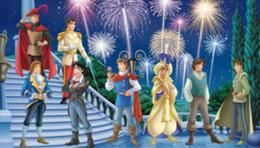 Disney princes!!!  I love this!! How cute!!