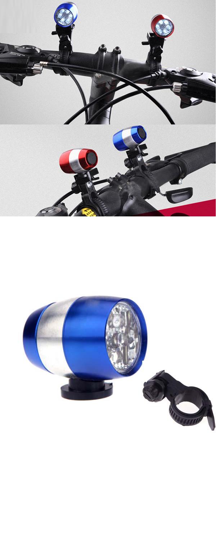 Best Cheap Off Road Mountain Bike Lights 6 Led Cycling Bicycle Front Head Light Mountain Bike Lights Cycling Lights Bike Lights