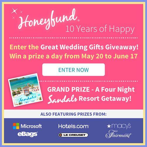 Wedding Gift No Registry: Free Honeymoon Registry By Honeyfund, The #1 Cash Wedding
