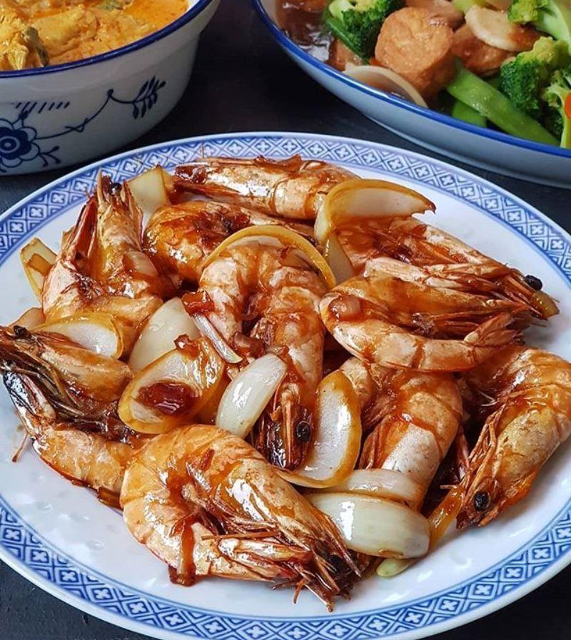 Http Santeaja Com Resep Udang Goreng Mentega Resep Udang Resep Makanan Resep Masakan