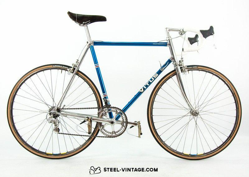 Steel Vintage Bikes Vitus 976 Klassisches Alu Rennrad Der 1980er
