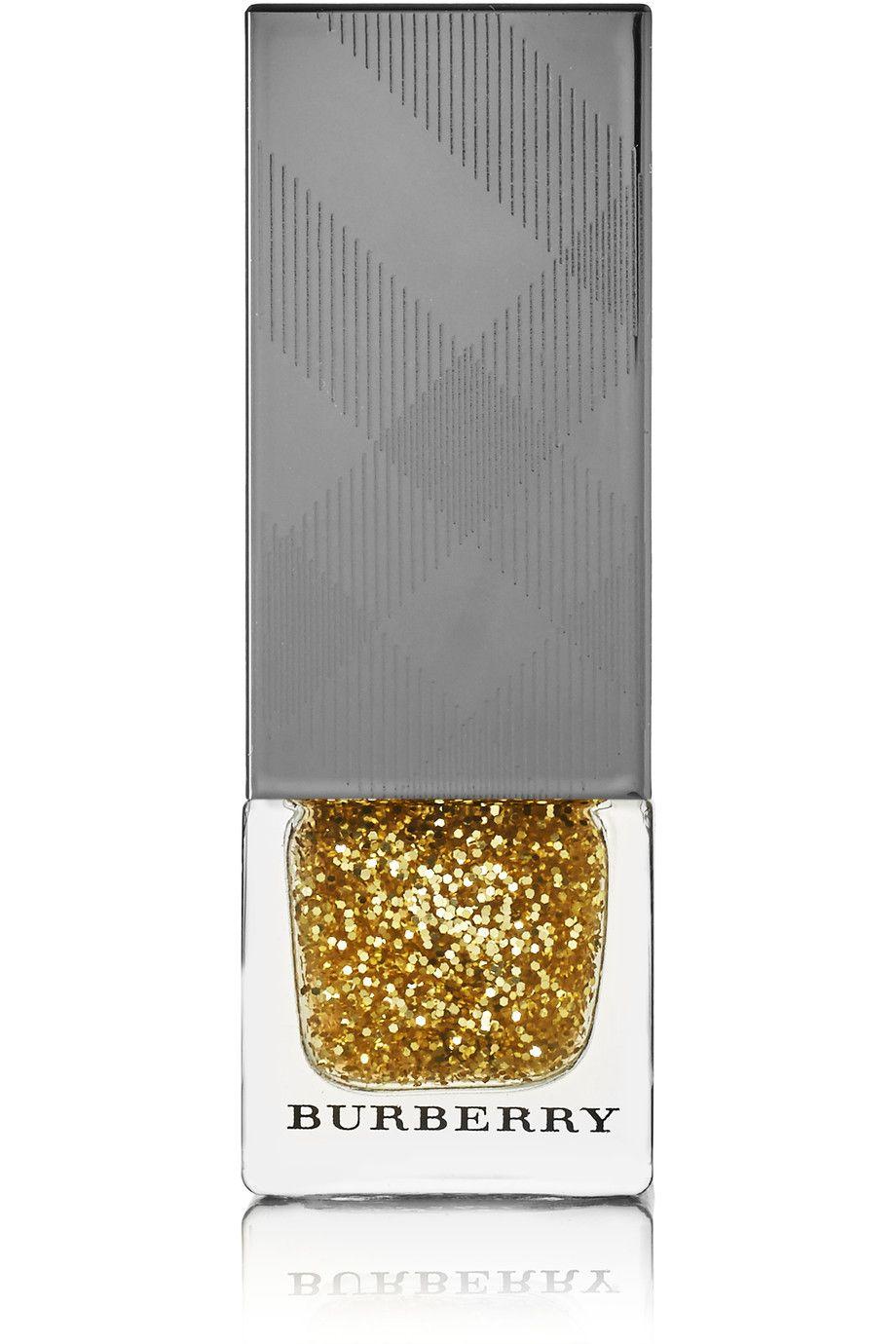 Nail Polish Gold Glitter No 451 Burberry Beauty Beauty Nails
