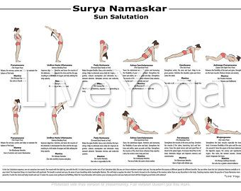 set of 2 posters  a2 printable yoga poster and a2 surya