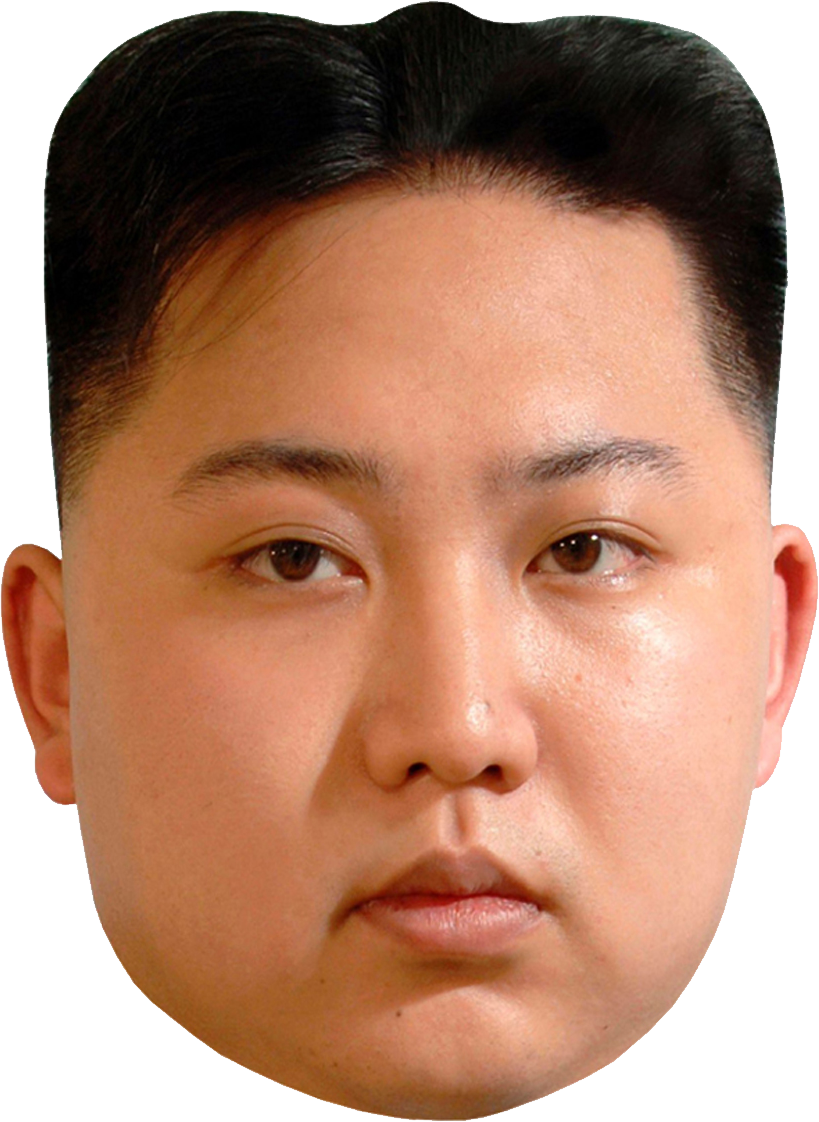 Fun Collectible Mug  Dictator Korean Kim Jong - un Rocket Man Head Mug