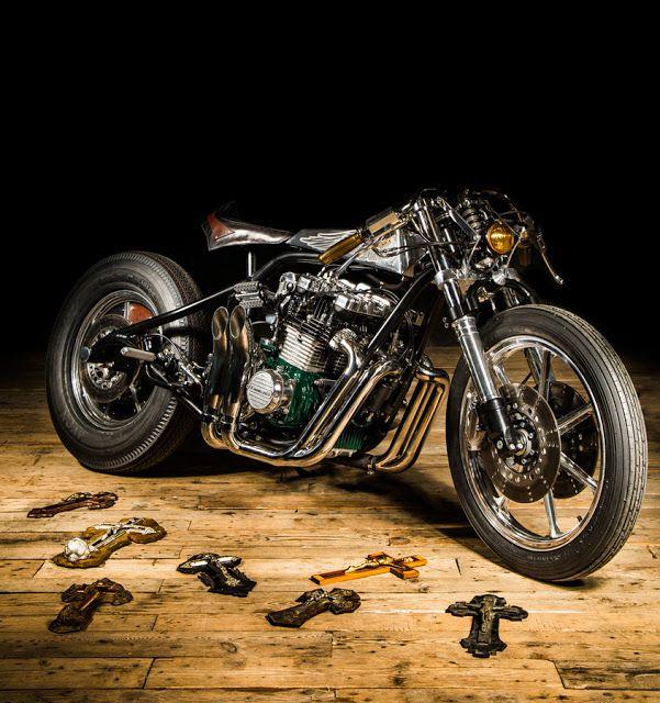 Ezekiel 21, \'The Sword\' - RocketGarage Cafe Racer | Motos | Pinterest