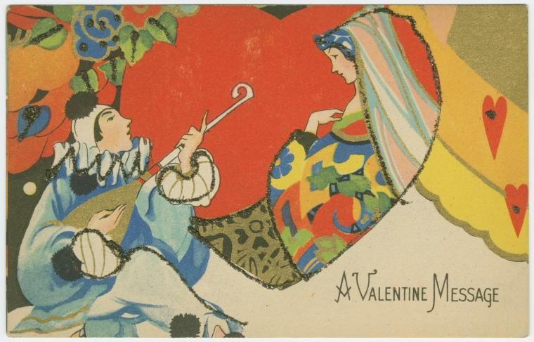 Beautiful and Bizarre Vintage Valentines From the New York Public Library's Digital Collection