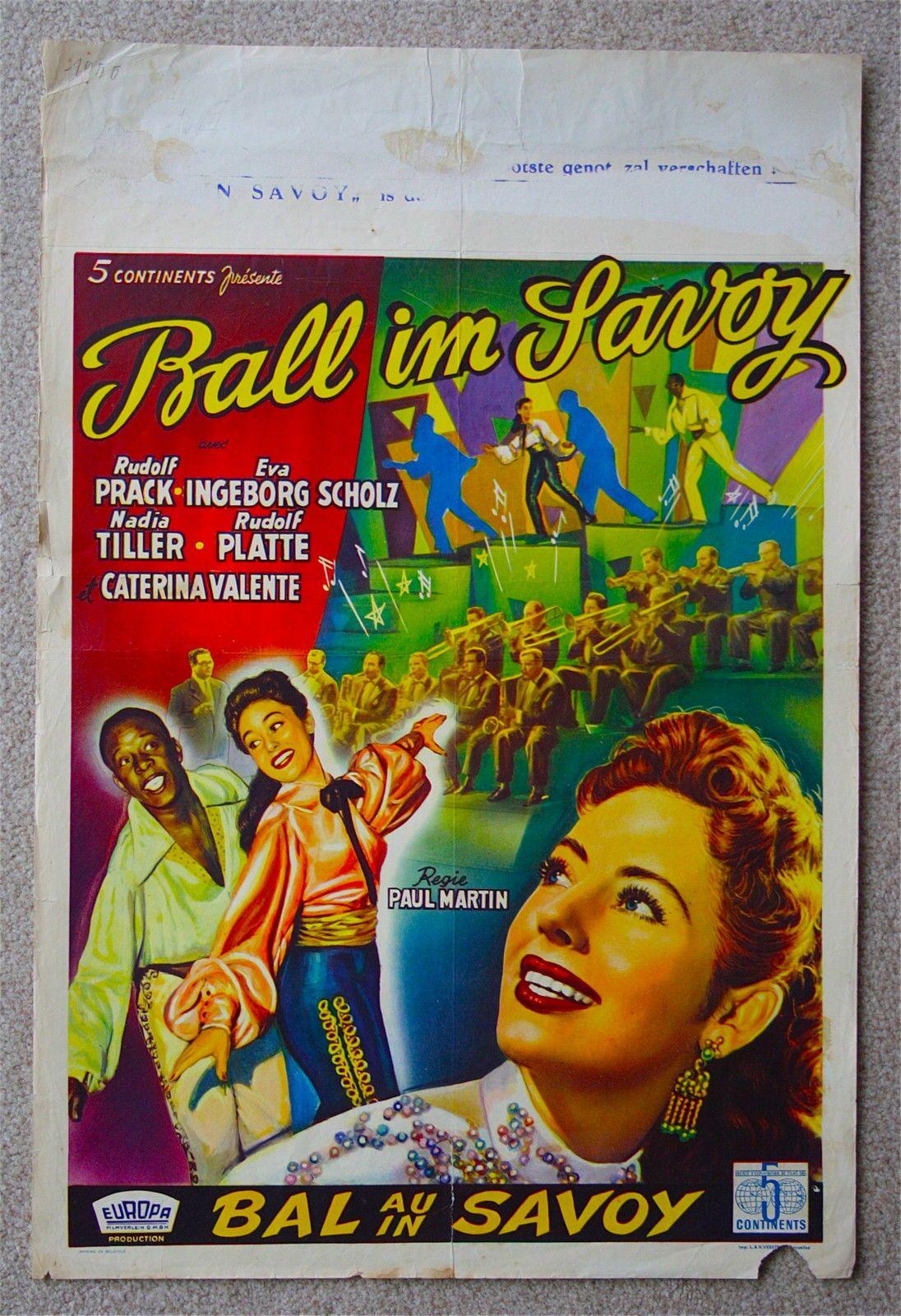 Ball in Savoy Caterina Valente Very Rare VINTAGE ORIGINAL ...
