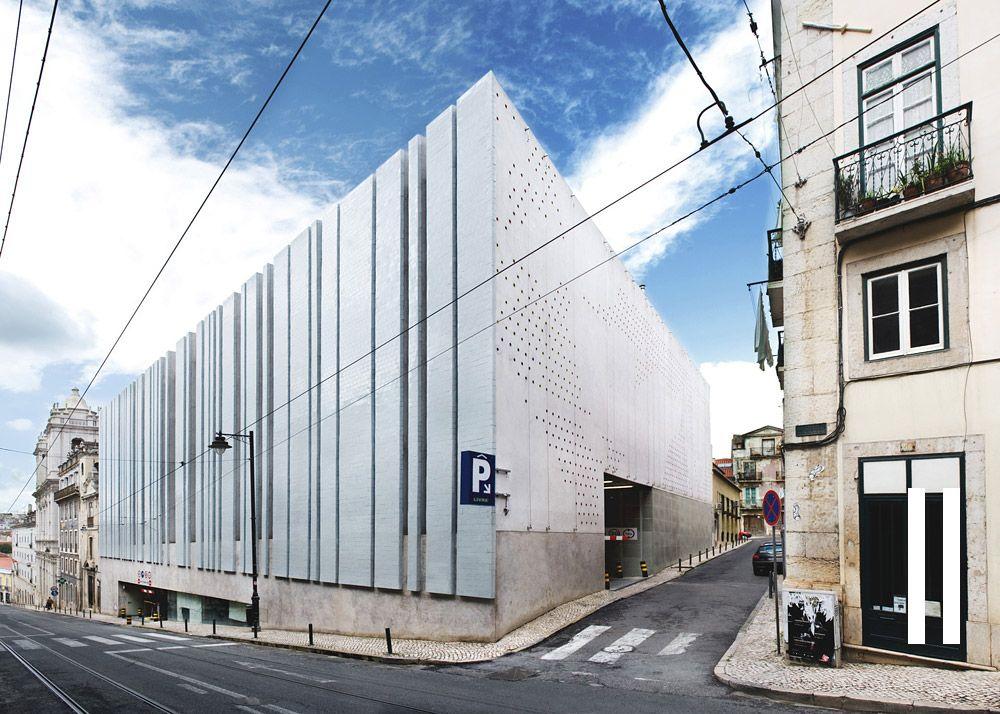 Atelier Drome A D Who Says Parking Garages Can T Be Beautiful Parking Garage Building Exterior Drome