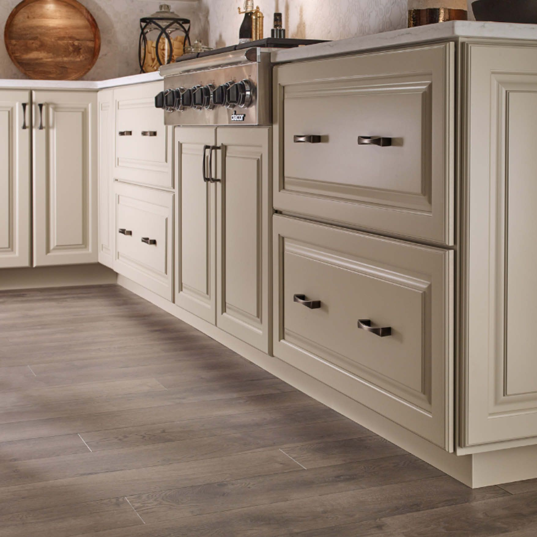 kitchen cabinets shown with door style 660 painted cashmere cashmere kitchen cabinet door on kitchen interior cabinets id=11840