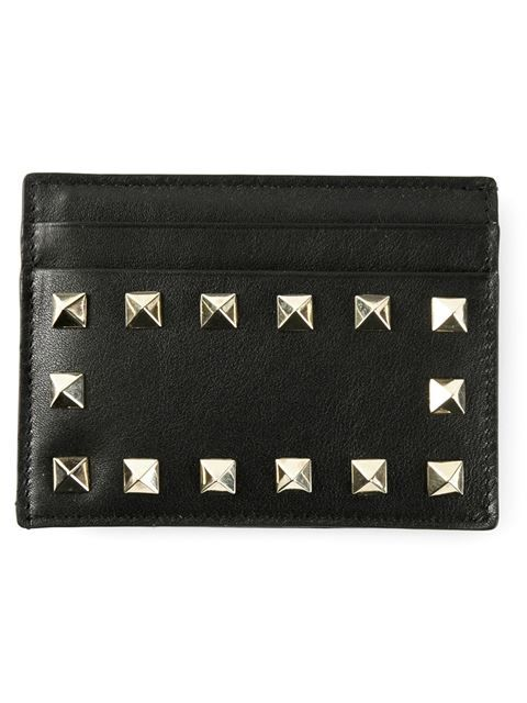 Shop Valentino Garavani 'Rockstud' cardholder in CHUCKiES New York from the world's best independent boutiques at farfetch.com. Over 1000 designers from 300 boutiques in one website.