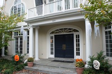 Sherwin Williams Urban Putty On Body Granite Peak Door Neutral Ground Trim