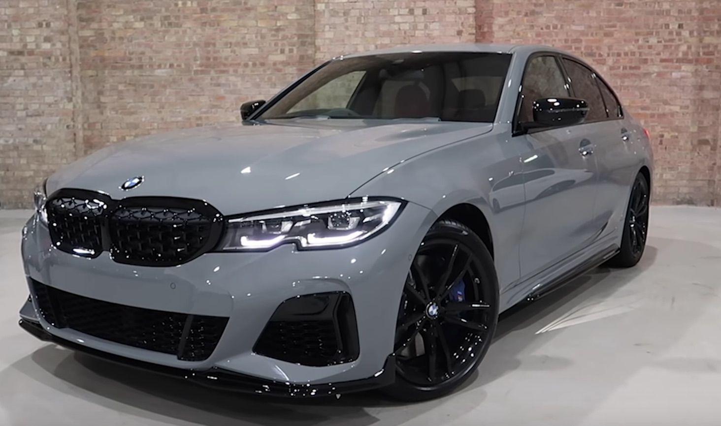 This 2020 Nardo Grey Bmw M340i Is One Of A Kind In 2020 Bmw Dream Cars Bmw Nardo Grey