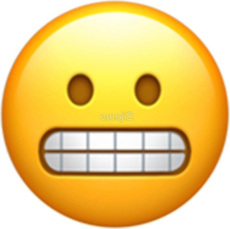 'Emoji Teeth' Sticker by emoji2 | Teeth