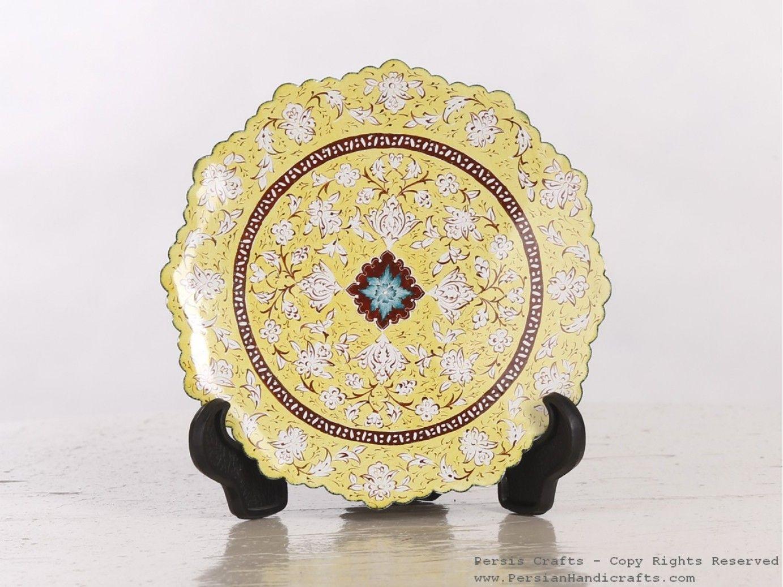 Enamel (Minakari) Wall Hanging Plate - HE3051 - Persis Crafts ...