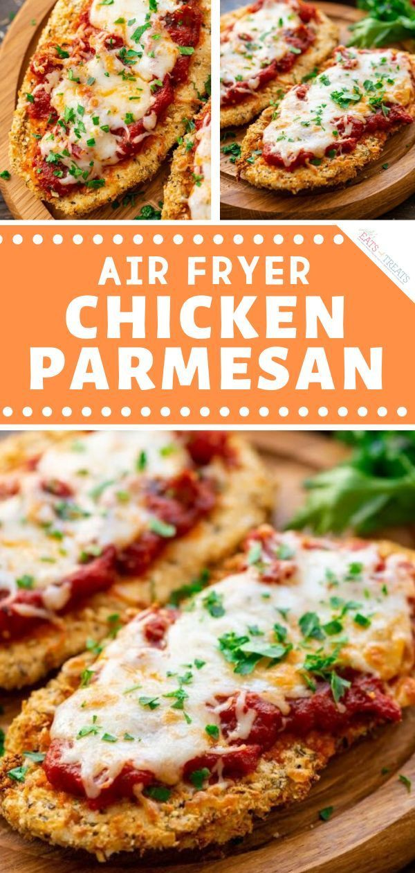Air Fryer Chicken Parmeasan  – Family Friendly Meals