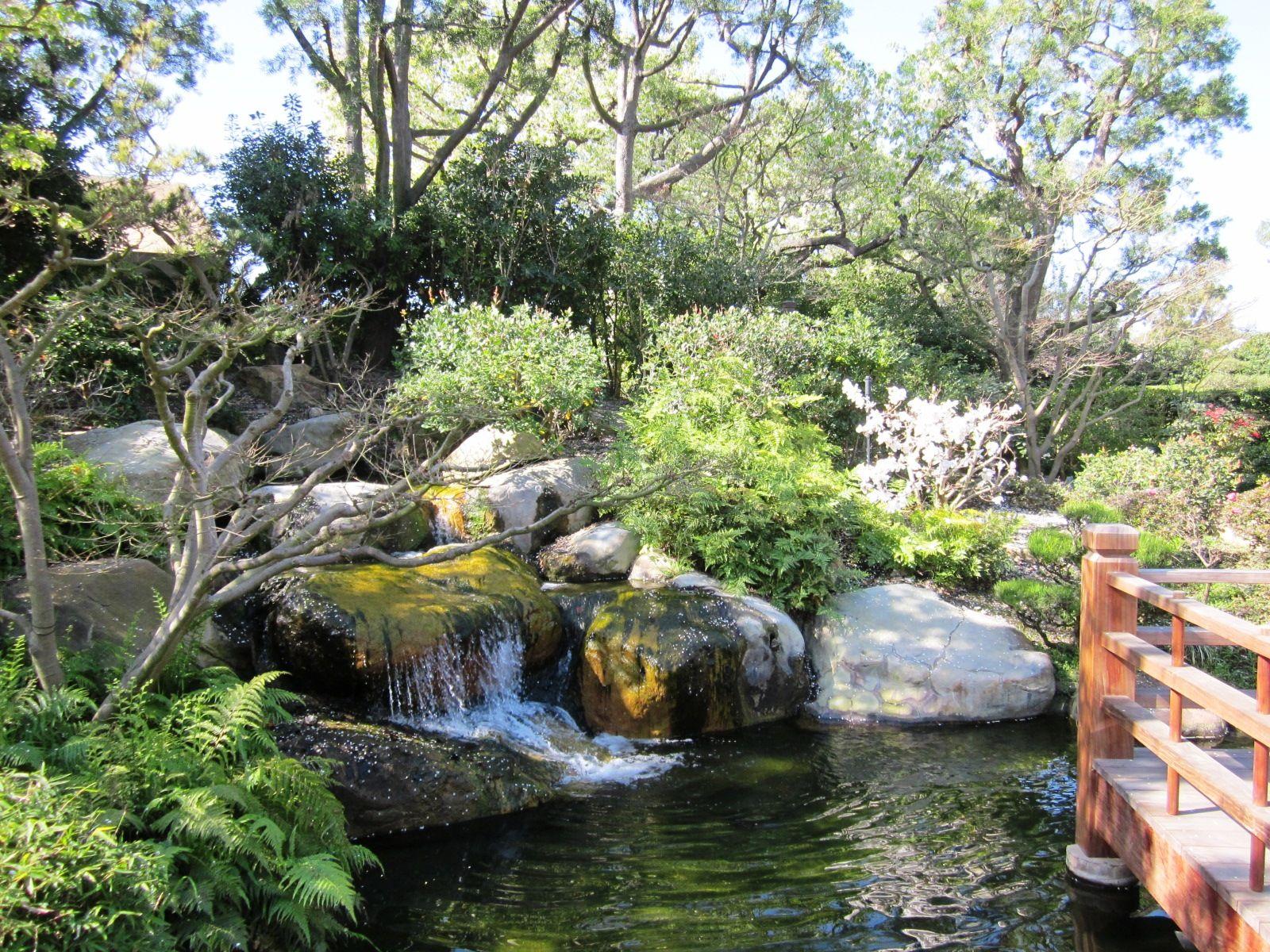 Earl Burns Miller Japanese Garden, Long Beach State | All things ...