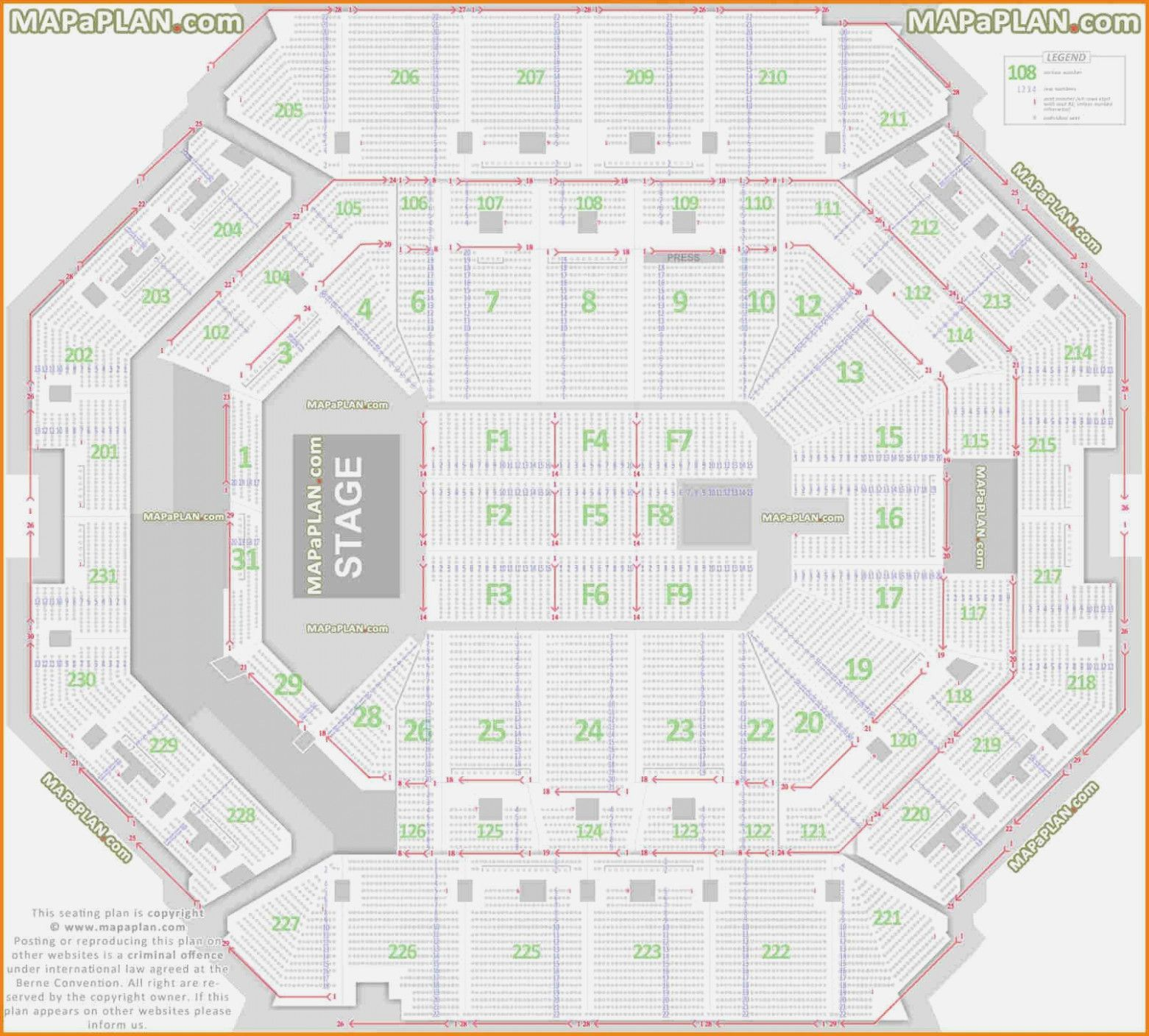 Mgm Grand Garden Arena Seating Chart With Rows Mgm Grand Seating Chart Rows Mgm Ka Seating Chart With Seat Numbers Mgm Gran Seating Plan Seating Charts Seating