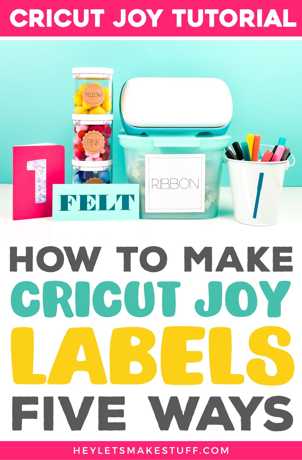 Five Ways To Make Labels With Cricut Joy In 2020 How To Make Labels Cricut Cricut Tutorials