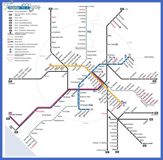 Italy Metro Map With Images Metro Map Transit Map Map