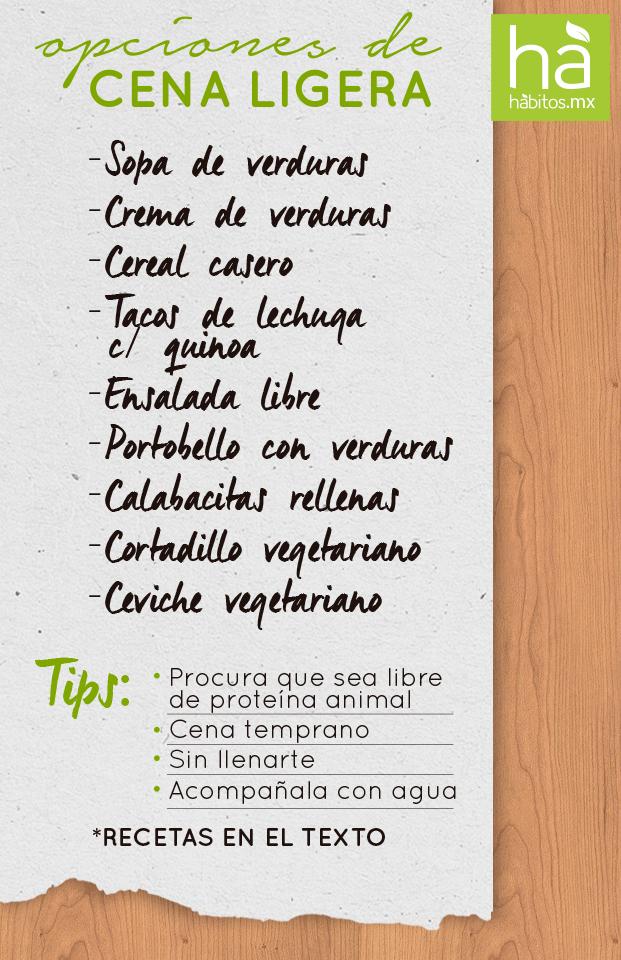 Opciones de cena ligera recetas saludables pinterest for Opciones de cenas ligeras