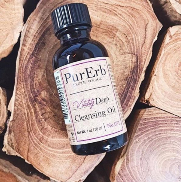 All Natural Cleansing Oil #MyskincareBox #PurErb #herbs