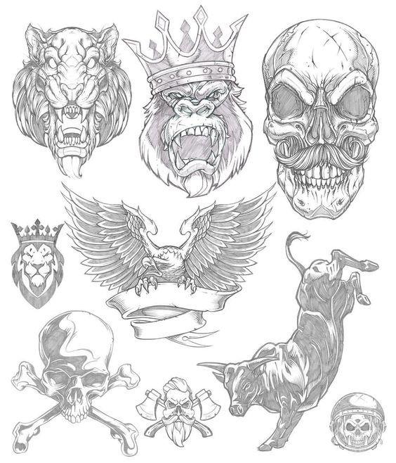 Imagenes De Calaveras Para Dibujar A Lapiz Drawings Skull Art Art