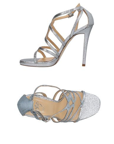 ICÔNE Women's Sandals Silver 10 US
