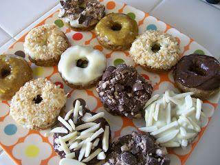 theworldaccordingtoeggface: Shelly's Mini Fall Spice Protein Donuts #proteindonuts