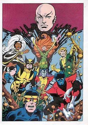 Vintage 1978 x Men Pin Up Poster Marvel Wolverine Storm | eBay