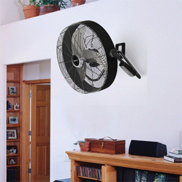 Industrial high max velocity floor fan w remote turbo force quick