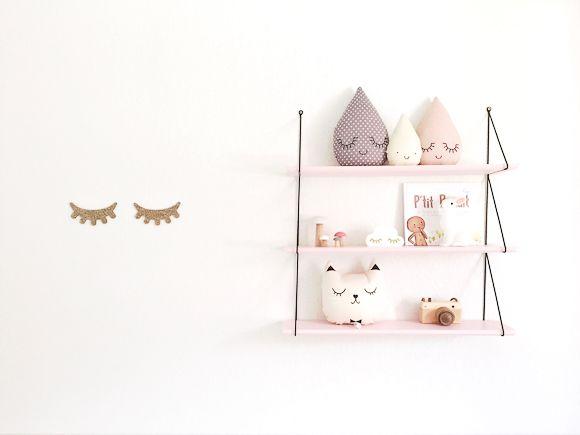 Chambre bébé douce, comment la créer Nursery, Bedrooms and Interiors - guirlande lumineuse pour chambre bebe