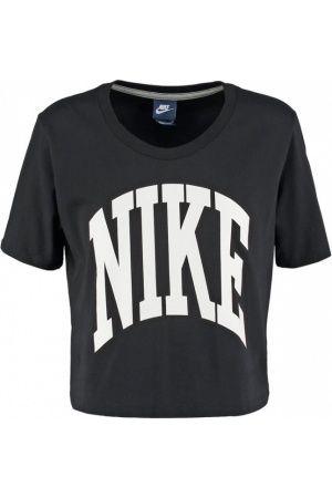 7e6b7d5c8a Camisetas de mujer - Nike Sportswear Camiseta print black white ...