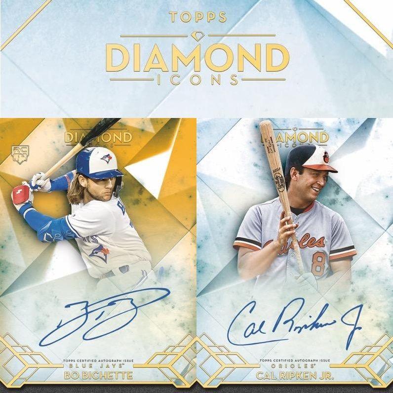 2020 topps diamond icons baseball checklist mlb set info