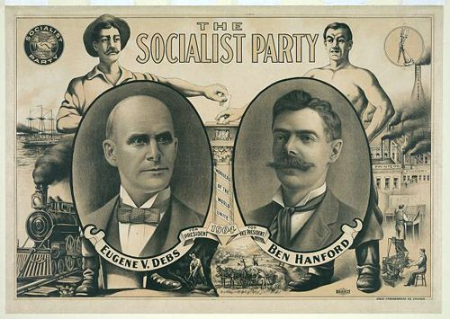 Eugene Debs, Socialist Party of America Presidential Candidate, 1904 - Library of Congress Prints and Photographs Division