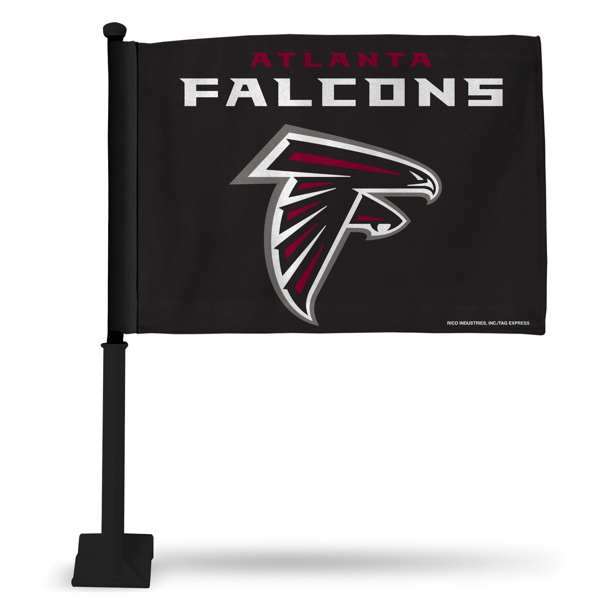 Falcons NFL Fan Flag (Car Flag) Nfl fans, Car flags