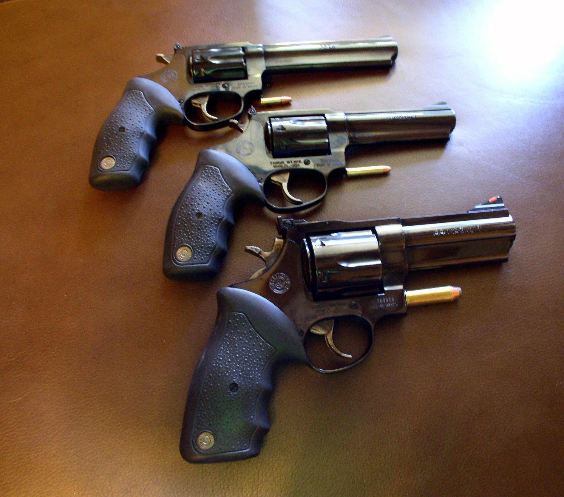 We Three Kings - Taurus Revolvers 22LR 6inch, 22Mag 4inch