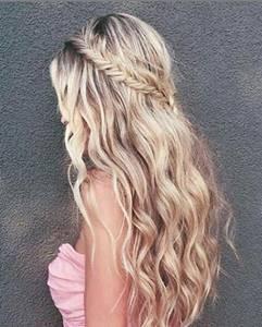 تسريحات شعر للاعراس و المناسبات و المراهقات و الاطفال اجمل صور Easy Hairstyles For Long Hair Homecoming Hairstyles Bridesmaid Hair
