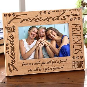 buy personalized picture frames friends forever and search for personalized christmas gifts from