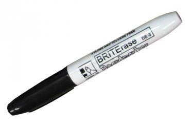 Black Dry Erase Marker Chisel Tip De 3bk Dry Erase Dry Erase Markers Markers