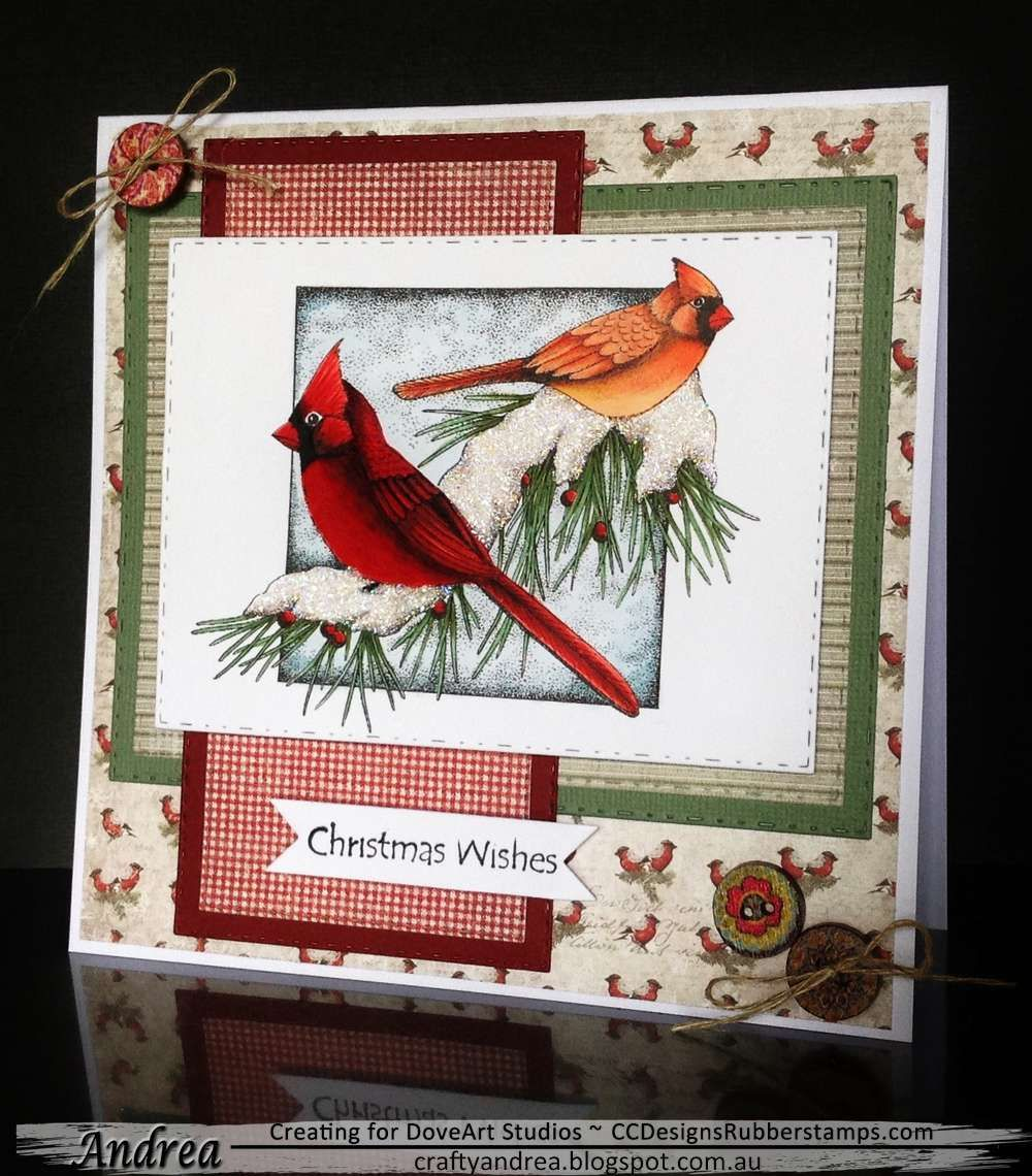 Beautiful Winter Cardinals Christmas wishes, Winter