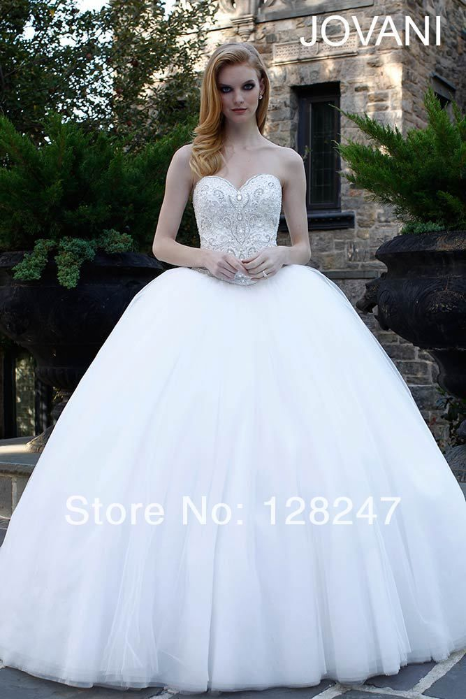 Real Made Europe Unique Design Pure White Ball Gown Full Length WDM ...