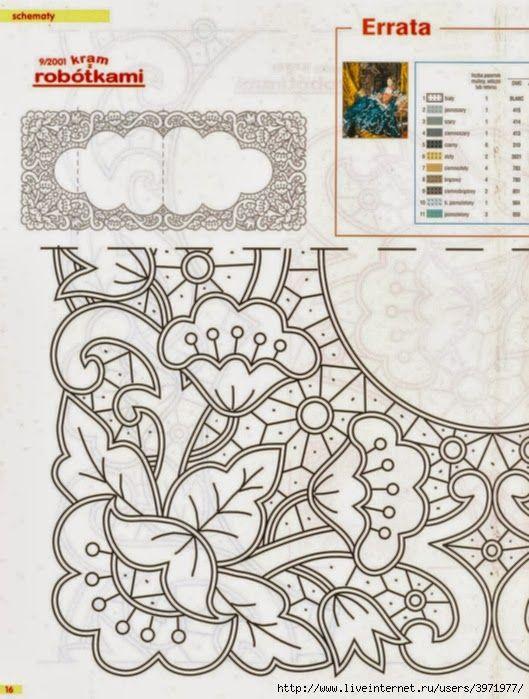 Victoria - Handmade Creations : Σχέδια για κοφτά κεντήματα   caminos ...