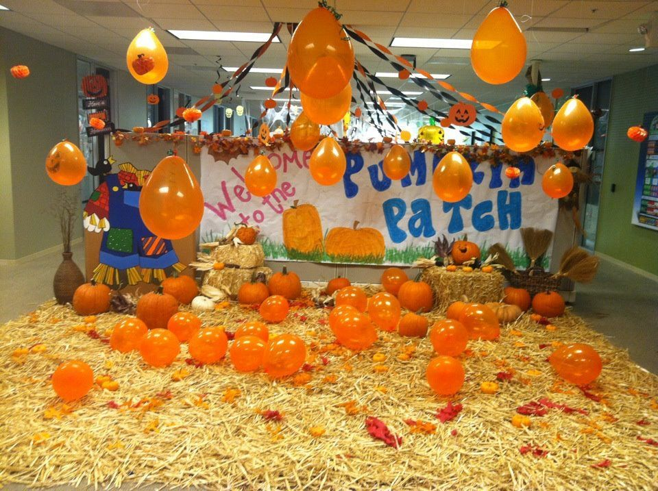 find out what this survey says are the best halloween themes party ideas and activities for work make this halloween the best at your office - Halloween Office Decoration