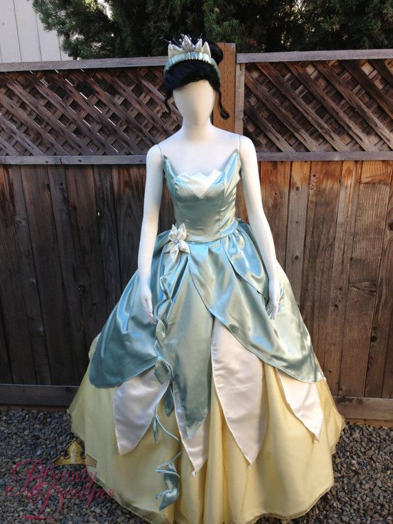 1962c1eac1 Frog Princess Costume For Adults   Tiana Tinkerbell Sc 1 St Costume ...