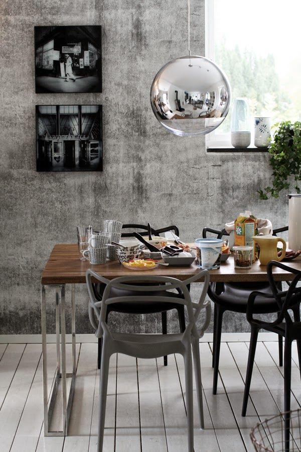 Masters Stuhl von Kartell In weiß-grau-schwarzer Farbpalette - esszimmer in grau