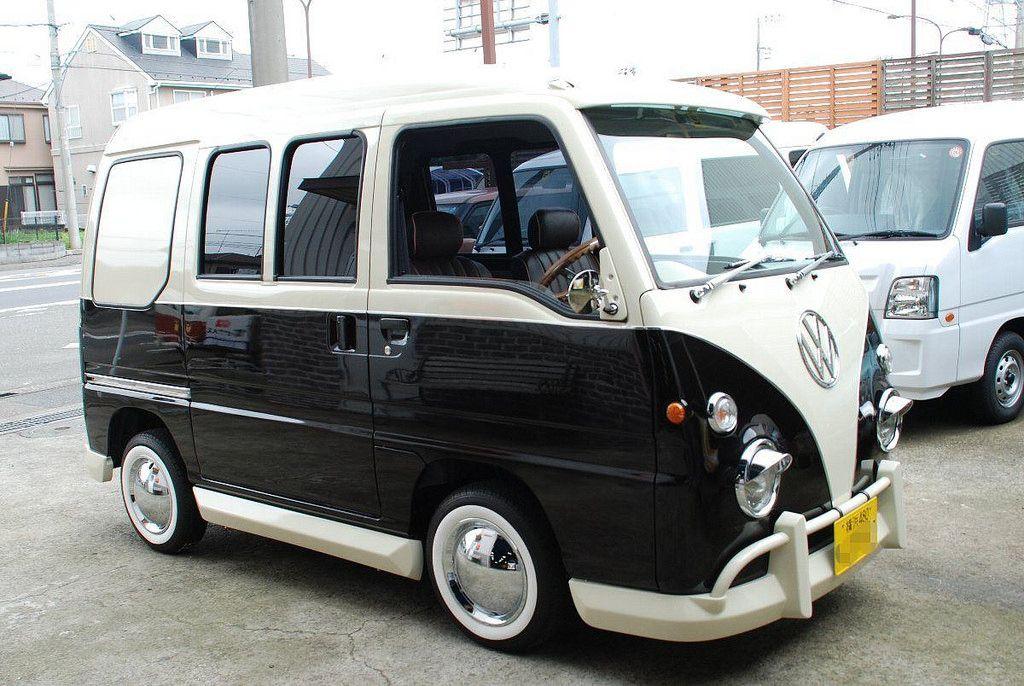 "Subaru Sambar ""VW Bus T1"" Volkswagen bus, Subaru and"