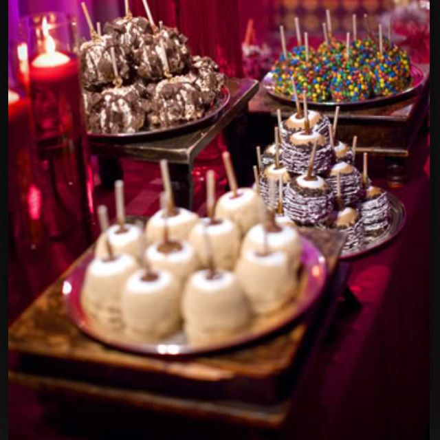 Definitely Having A Dessert Table At My Wedding Caramel Apple
